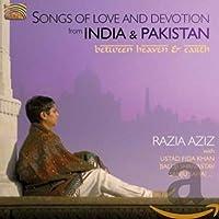 インド、パキスタンの歌曲・民謡・歌謡 (Songs of Love and Devotion from India & Pakistan)