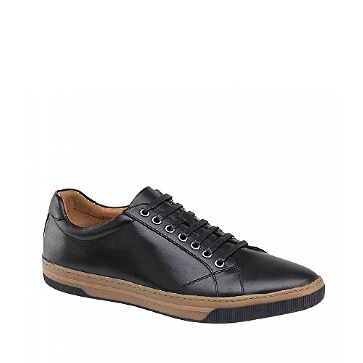 姓保持する縞模様の(ジョンストン&マーフィー) Johnston & Murphy メンズ シューズ?靴 革靴?ビジネスシューズ Fenton Lace-To-Toe Oxfords [並行輸入品]