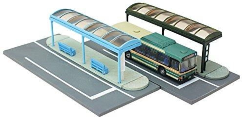トミーテック ジオコレ 情景コレクション 情景小物007-4 バス停A4 ジオラマ用品