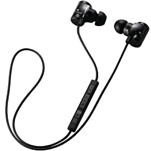 Logitec iPhone4/4S/3GS/3G スマートフォン対応 Bluetooth2.1 + EDR対応ステレオヘッドホン ケーブル充電 ブラック LBT-PCHP04BK