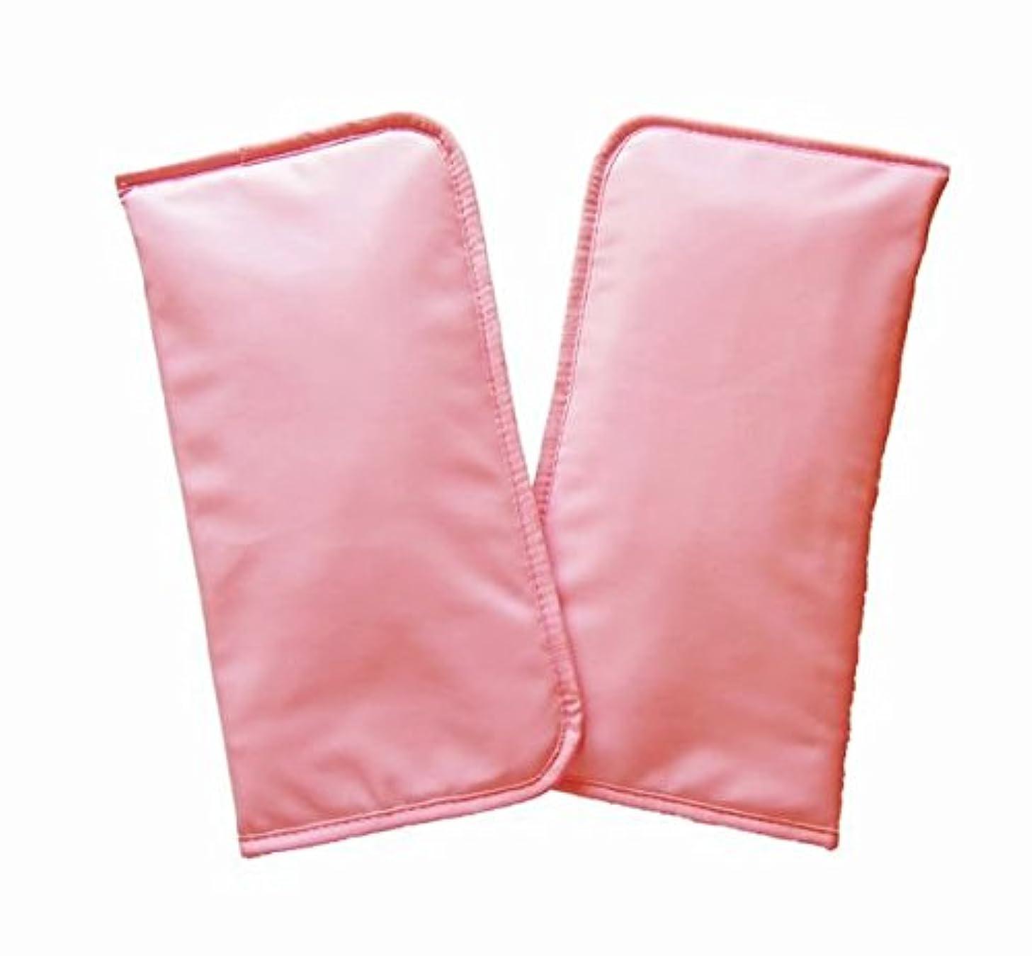 動かない寛大な噴出するウォーミング ミトン (ピンク)