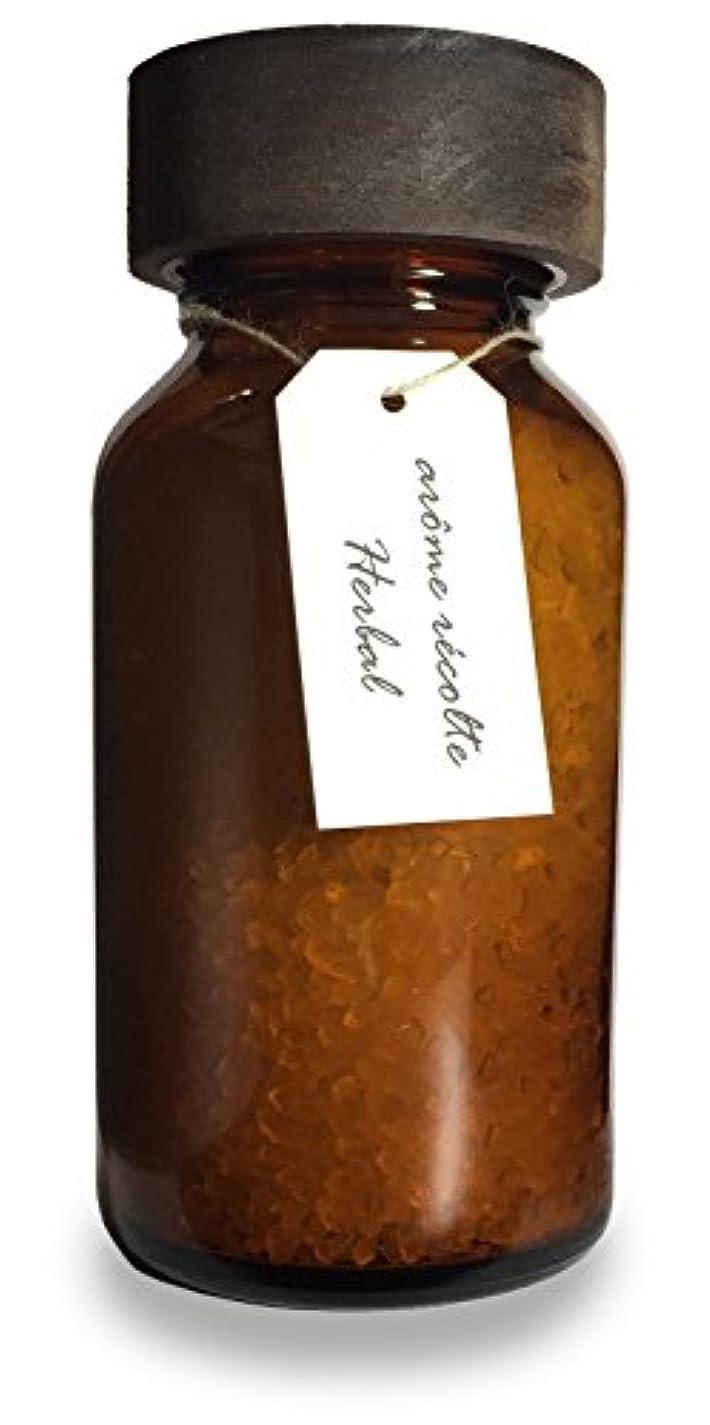 トリッキー地上のなだめるアロマレコルト ナチュラル バスソルト ハーバル【Herbal】arome recolte natural bath salt