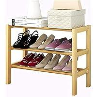 折りたたみ靴ラックソリッドウッドシンプルな靴キャビネットの家庭用経済的なラック多機能ダストシューラック (サイズ さいず : 21cm*51cm*82cm)