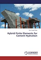 Hybrid Finite Elements for Cement Hydration