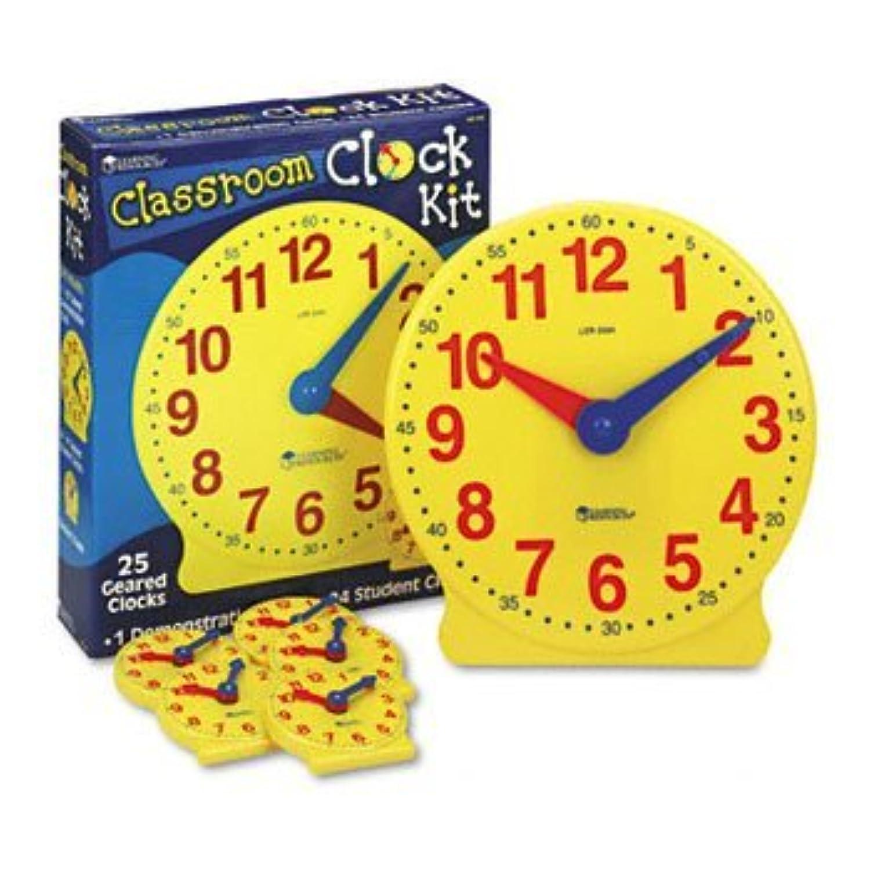 学習リソース®教室クロックキットクロック、教室キット(パックof2 )