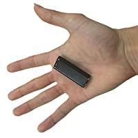 COM-SHOT 【 世界 最小 クラス 】 6mm ボイス レコーダー 8GB 簡単 操作 ワンタッチ 高音質 イヤホン ジャック 搭載 MI-TIBIPERA-8GB