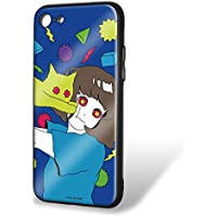 hare. iPhone8 ケース ガラスプリントTPU ねこE (hr-010) スマホケース カバー WN-LC535992