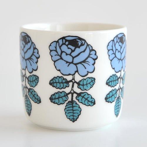 marimekko マリメッコ VIHKIRUUSU ヴィヒキルース コーヒーカップ (ラテマグ スモール) 【1個】/ブルー