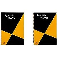 マルマン スケッチブック 図案シリーズ A3 画用紙 S115 & スケッチブック B4 S120