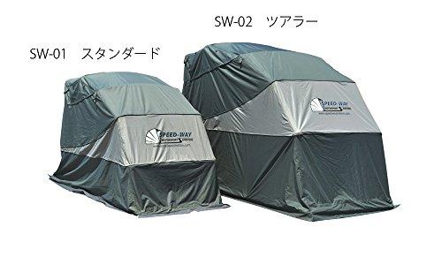 スピードウェイ【SPEED WAY】 モーターシェルター スタンダードタイプ SW-01