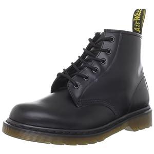 [ドクターマーチン] ブーツ Dr.Martens CORE 101 6ホール スムース 10064001 ブラック UK 7(26 cm)