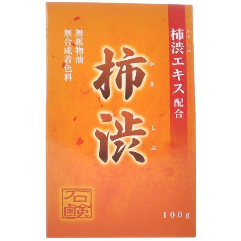 堀六柿渋石鹸 100g