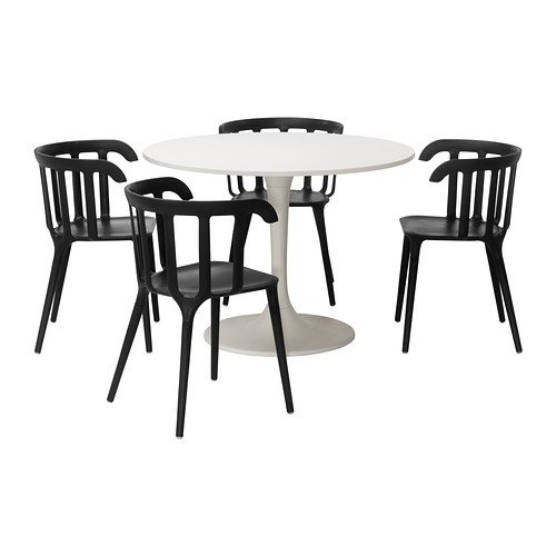 DOCKSTA/IKEA PS 2012 テーブル&チェア4脚