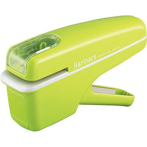 コクヨ 針なしステープラー ハリナックス  緑 ハンディタイプ SLN-MSH104G