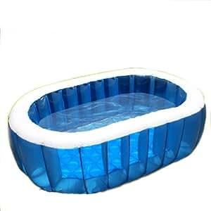 ブルーラグーンオーバルプール!庭やバルコニーで楽しめる水遊びに!夏!アウトドア、プール・海・川!水遊びに大活躍!