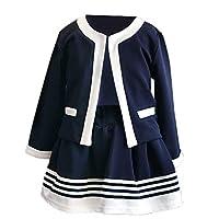 [フォレストベア] 女の子 フォーマル スーツ セットアップ ジャケット スカート 上下セット 長袖 (100cm)