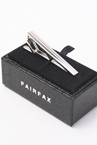 (フェアファクス) FAIRFAX ケース付 シルバー製 タイクリップ tp2400