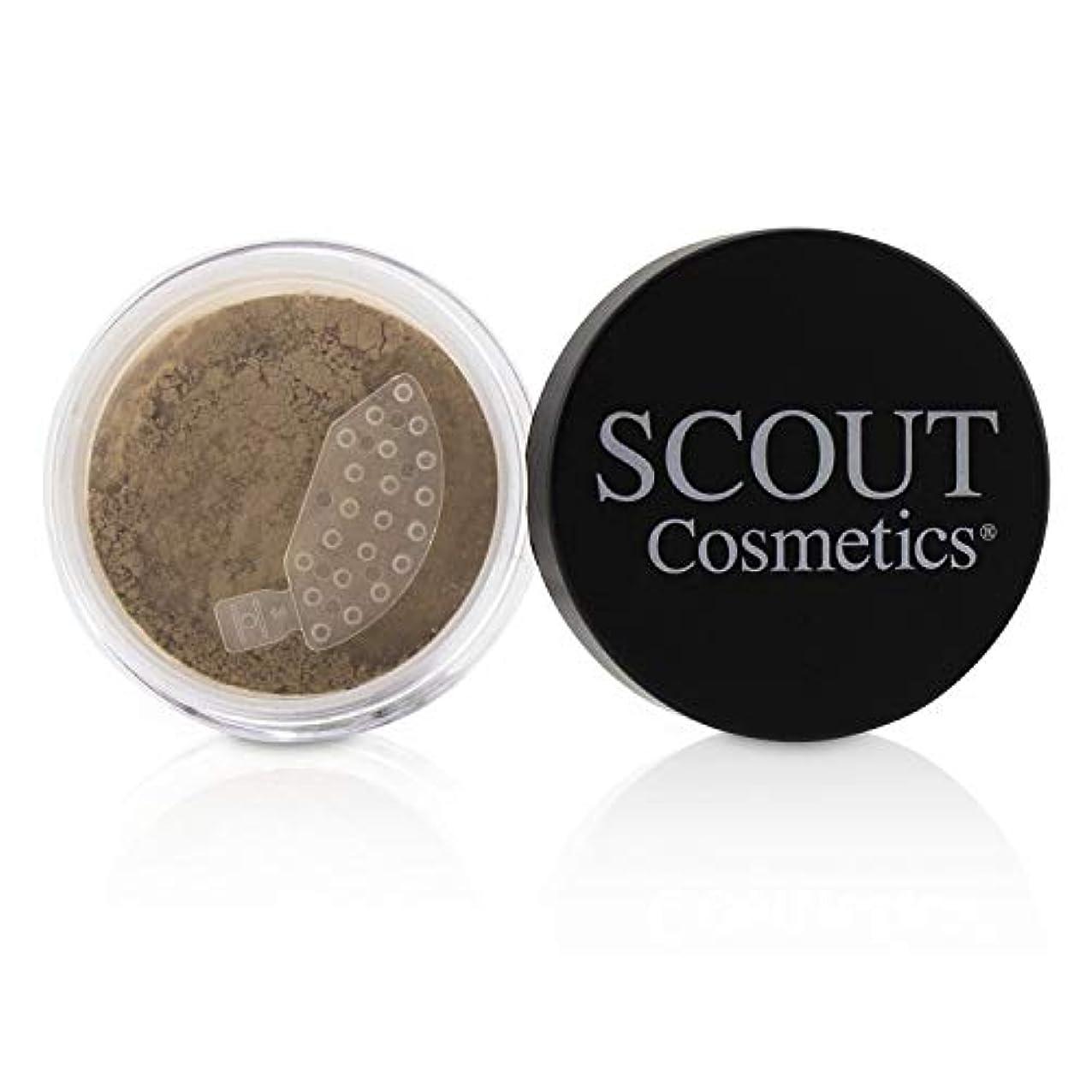 歯ラベル矩形SCOUT Cosmetics Mineral Powder Foundation SPF 20 - # Sunset 8g/0.28oz並行輸入品