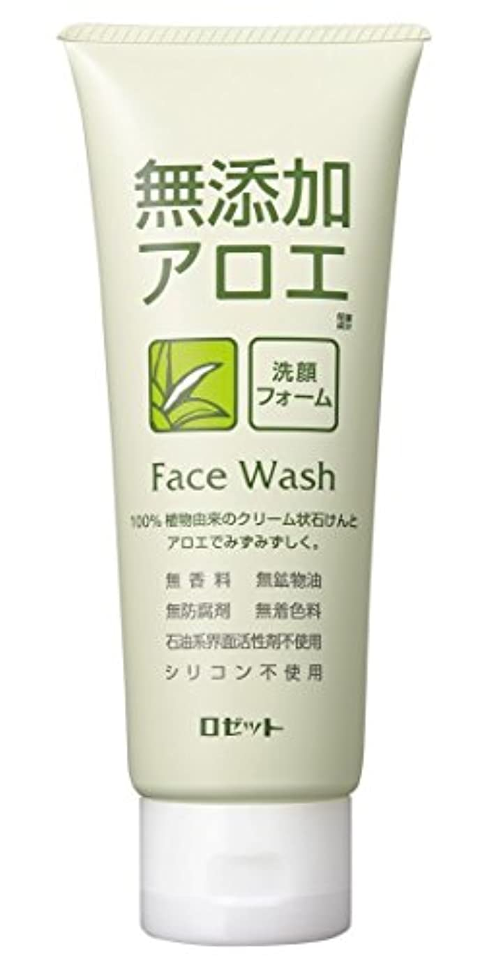 エンジニアリング法令接続【ロゼット】無添加アロエ 洗顔フォーム 140g ×3個セット