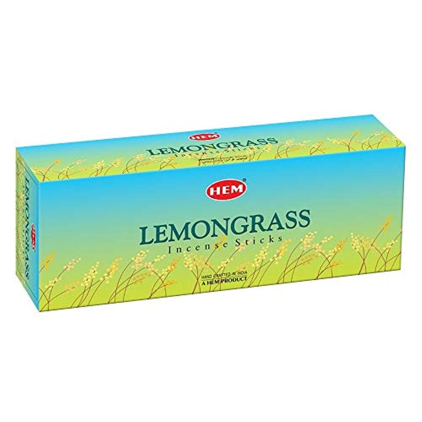 単なる効果育成Hem Lemongrass Incense Sticks (9.3 cm X 6.0 cm X 25.5cm, Black)