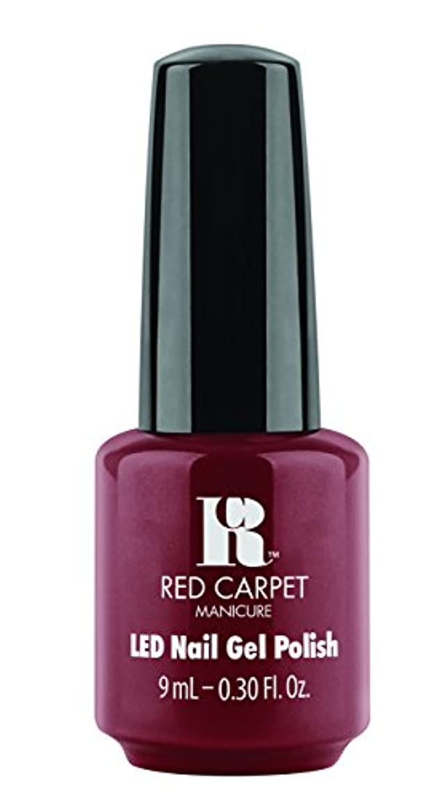 ナラーバー童謡慎重Red Carpet Manicure - LED Nail Gel Polish - You Like Me, You Really Like Me - 0.3oz / 9ml