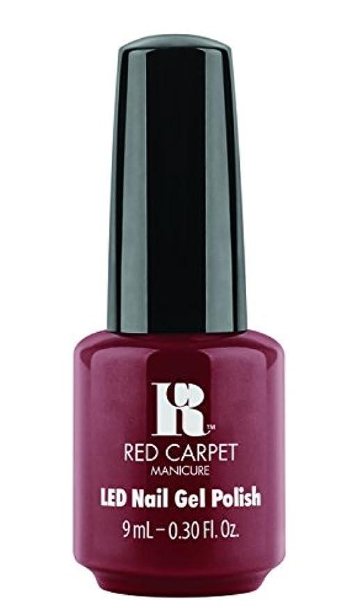 逃す収入つばRed Carpet Manicure - LED Nail Gel Polish - You Like Me, You Really Like Me - 0.3oz / 9ml