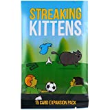 Streaking Kittens Streaking Kitty Board Game Funny Games Happy The Second Expansion of Exploding Kittens