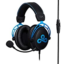 HyperX Cloud Alpha Gaming Headset - Cloud9 Edition for PC, PS4 and Xbox One, Nintendo Switch (HX-HSCAC9-BL)