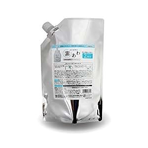 薬用 素あわ 泡タイプ ボディソープ 詰替2回分パウチ 800mL 乾 燥 肌 ・ 敏 感 肌 に
