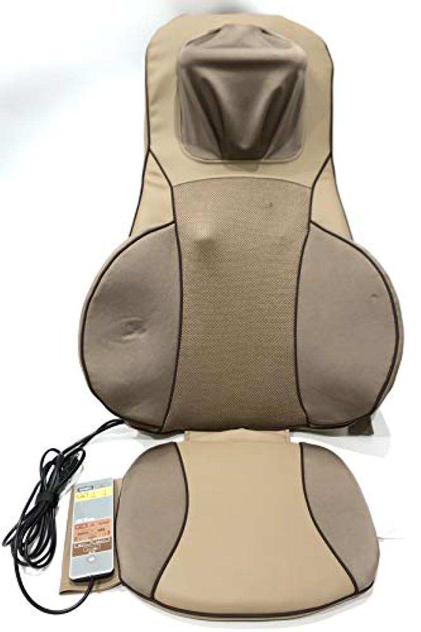 嵐長椅子わかるシートマッサージャー「ライフフィット」FM003 富士メディック 53×20×110cm 首 肩 腰 背中 お尻に