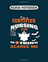 Nurse Notebook: certifiednursingaide  College Ruled - 50 sheets, 100 pages - 7.44 x 9.69 inches