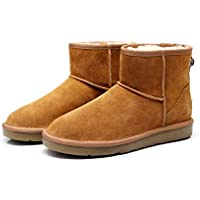 Best Gift Choice Premium Wool UGG Women/Men Classic Ankle Boots
