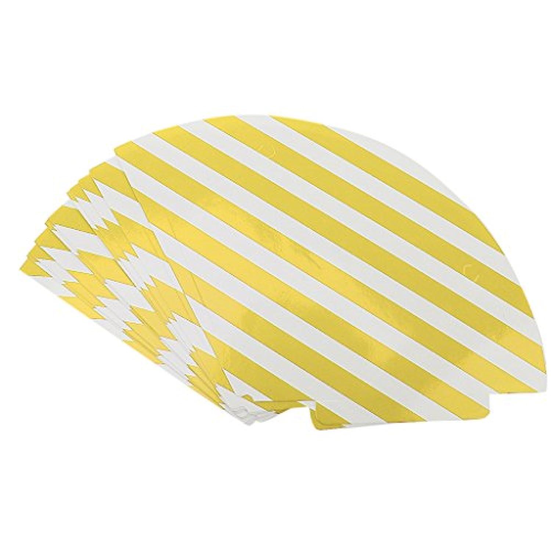 【ノーブランド品】 6色 12個 パーティーのお祝い 帽子 子供たち 大人 誕生日の帽子 パーティーの装飾  - 黄色