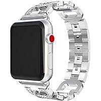 inverlee Appleステンレススチール時計バンド交換用ブレスレット手首バンドストラップfor Apple Watchシリーズ1 / 2 / 3 38 / 42 mm 38mm