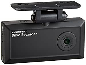 コムテック ドライブレコーダー HDR-101 100万画素 HD 日本製&1年保証 常時録画 衝撃録画