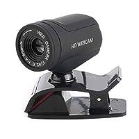 casualcatch ウェブカメラ ネットワークカメラ Web 1200万画素 360度回転 マイク内蔵 クリップオン付き PCラップトップ用 A7220D
