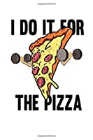 Notebook: Fitness Pizza Sports Fast Food Diet Funny Gift 120 Pages, 6X9 Inches, Graph Paper