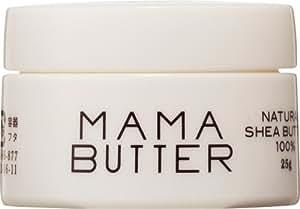 ママバター ナチュラル シアバター フェイス&ボディクリーム 25g