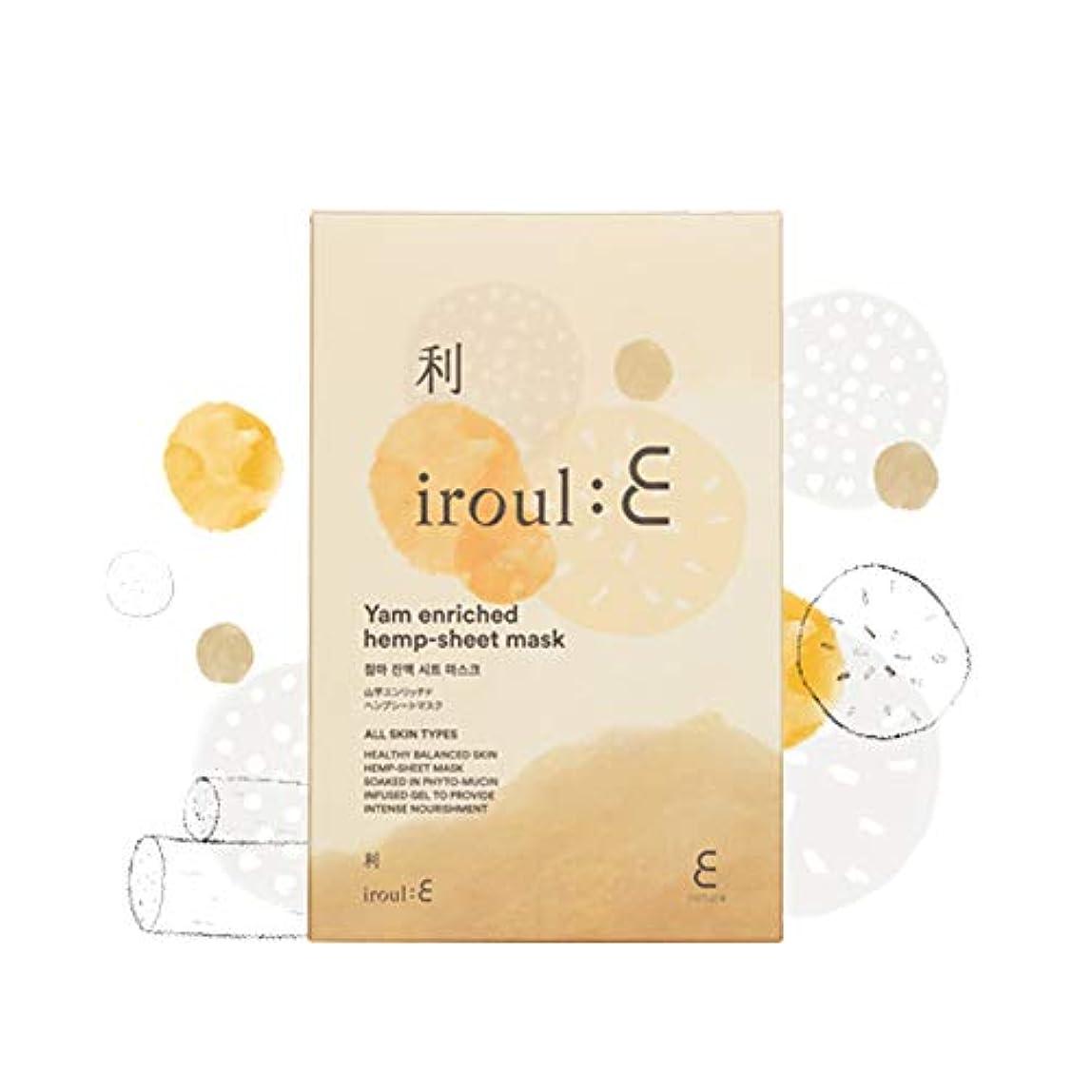 牧師統計的安いです【ENATURE 日本公式サイト】 Iroul E 山芋エンリッチドヘンプシートマスク 35gx5枚 韓国コスメ スキンケア