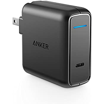 Anker PowerPort Speed 1 PD 30 (30W USB-C 急速充電器)【PSE認証済 / 折りたたみ式プラグ / 急速充電 / Power Delivery】Galaxy S9, Xperia XZ1 その他USB-C機器対応