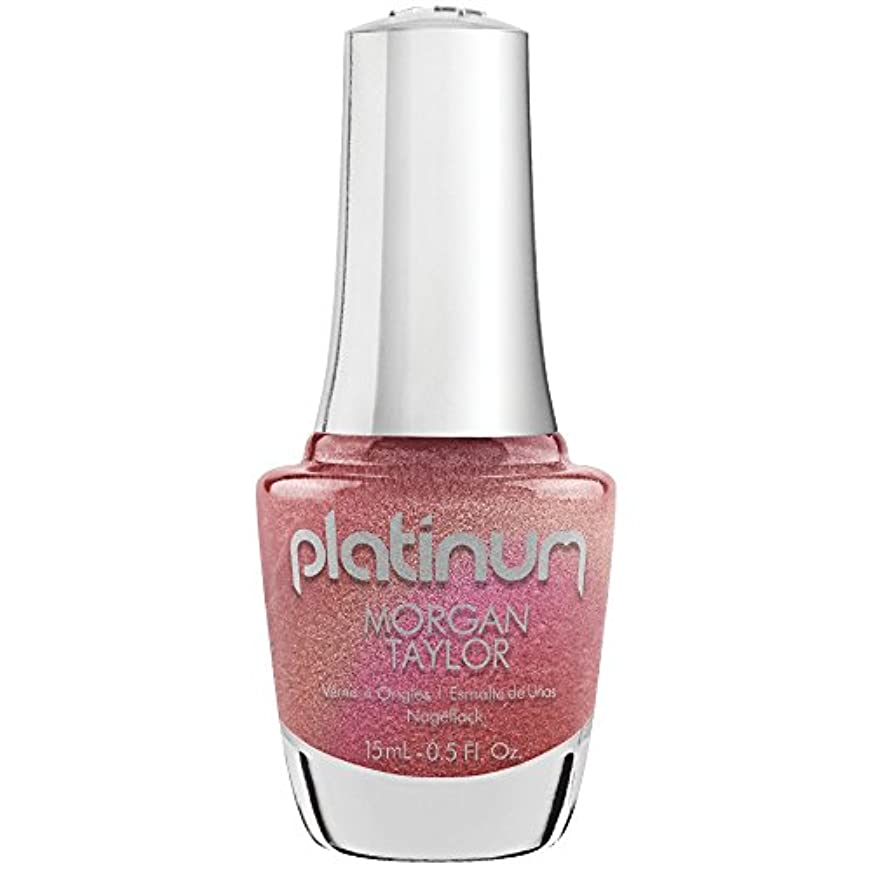 境界固執混雑Morgan Taylor Lacquer - Platinum Collection - Glow All Out - 15 mL/0.5 Fl Oz