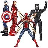 YEZI パーソナライズされたクリエイティブ玩具 トイ - マーベルトイ - アベンジャーズ3/4ジョイント - スパイダーマン/パンサーズ/キャプテンアメリカ/アイアンマン 誰もがそれを好きになるでしょう (Color : I)