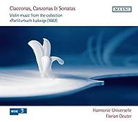 Violin Music Collection Partit by BERTALI / NICOLAI / SCHMELZER (2012-10-30)