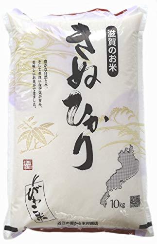 【精米】キヌヒカリ 10kg×1袋【令和元年:滋賀県産】