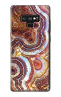 JP3034GN9 大理石グラフィック Colored Marble Texture Printed Note 9 Samsung Galaxy Note9 ケース
