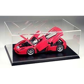 タミヤ ディスプレイグッズシリーズ No.14 ディスプレイケースL 1/12カーモデル対応 アクリル製 (木製台座) W470×D320×H185mm (内寸) 73014 ディスプレイケース