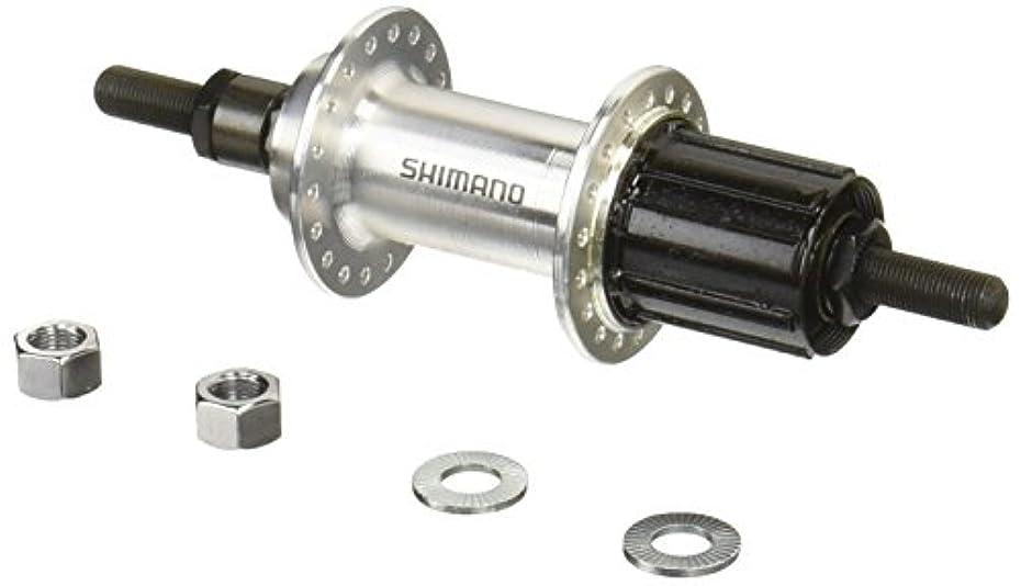 レッスン母音大破シマノ FH-TX500 シルバー ナットタイプ OLD:135mm EFHTX5008