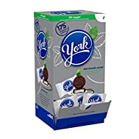 York Peppermint Patties Dark Chocolate Covered Mint Candy、175ピース、5.25 Pound 海外直送