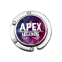 Apex Legends バッグフック バッグハンガー テーブルフック 円形 財布ハンガー クリフハンガー チャーム バッグホルダー 可愛い 折りたたみ式 飾り