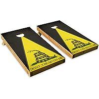 Dont Tread On Me – Cornholeクルー – ACA Regulation Size Cornholeボードセット